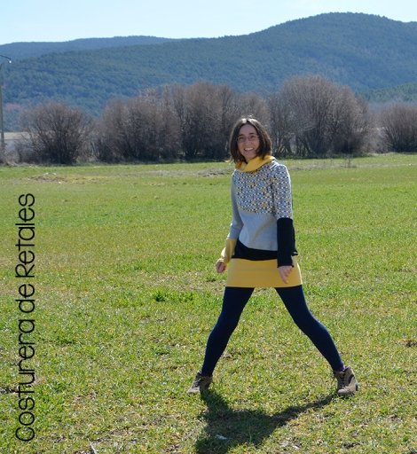 sudadera ladybloques amarilla 01